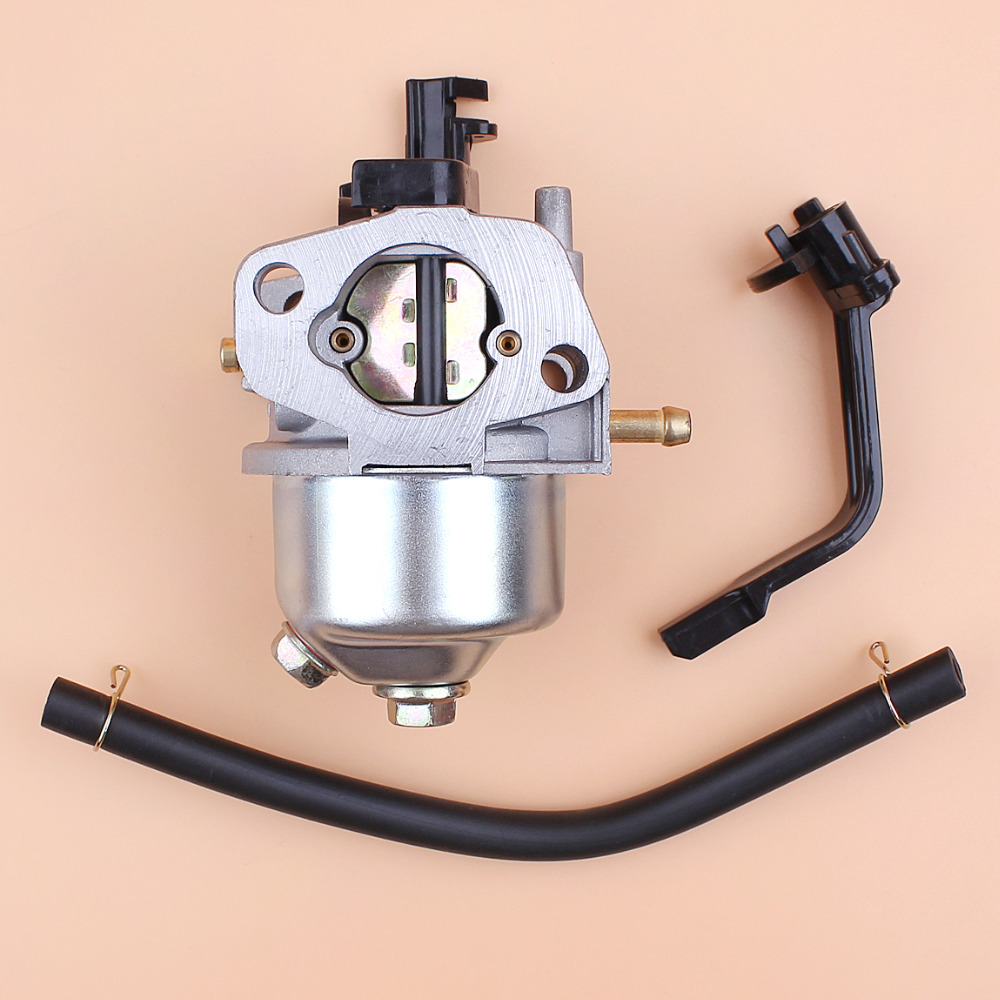 Durable Carburetor W//Gaskets Pipe For Honda GX160 GX180 GX200 5.5Hp 6.5Hp Engine