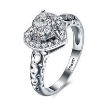 2020 красивые модные свадебные кольца серебряного цвета для