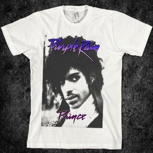 e4bfac8c Vintage 80s Prince T Shirt Retro Rock Guitar Tour Band Tops Tee ...