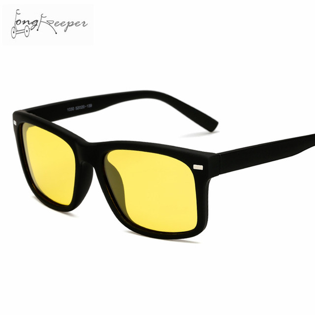 cc42fd6c83 LongKeeper Men s Polarized Driving Glasses Night Vision Sports Car Drivers  Safety Goggles Cycling Night Watch Sun