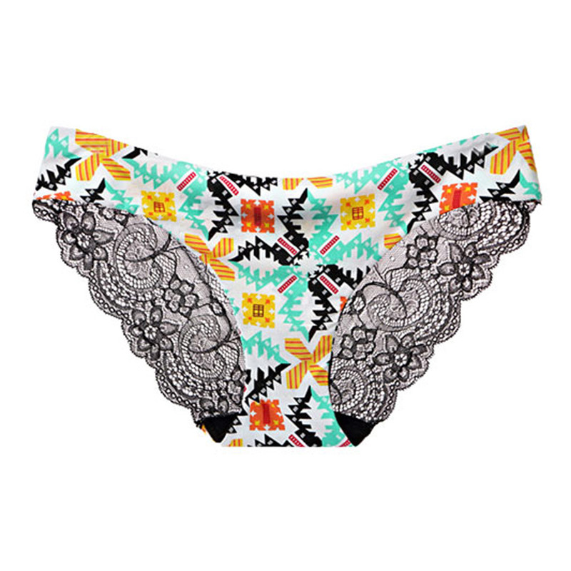 New Fashion Girls Shorts New Women Sexy Floral Patchwork Lace Panty Hollow Lingerie Babydoll Underwear Culotte Femme Sexy Bragas
