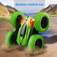 Hot Selling 360 Rotate Double faced Stunt Car RC 4WD Remote Control Off road Model Kids Toy Gifts