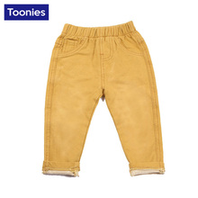 Hot Sale High Quality Kids Pants Boy Pant Cotton Children's Trousers Children Fashion Jeans Baby Boys Girls Clothing Solid Color
