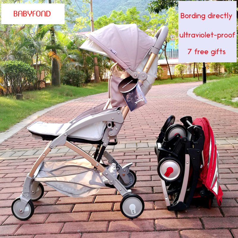 2018 hot Pouch baby stroller fashionable light folding childrens trolley baby umbrella carriage