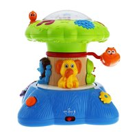 HOT Baby Musical Dreamy Forest Lighting Music Visual Enjoy Projector Bright Tree Educational Toy DIfferent Sounds