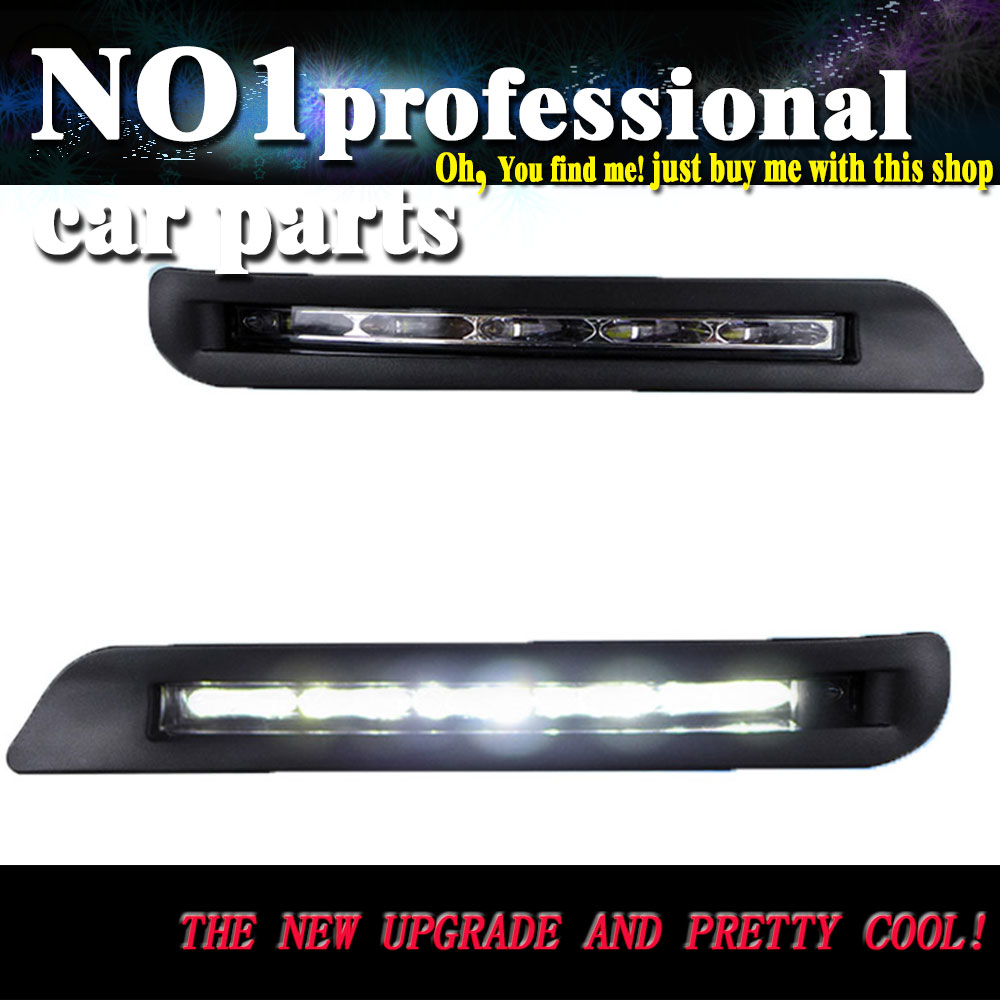 car styling 2012 2013 For Lexus LX570 LX460 LED DRL led fog lamps daytime running light High brightness guide LED DRL for lexus rx gyl1 ggl15 agl10 450h awd 350 awd 2008 2013 car styling led fog lights high brightness fog lamps 1set