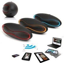 Mult function Mini Football Portable Speaker Wireless Bluetooth Speaker Mic Super Bass FM Support for iPhone
