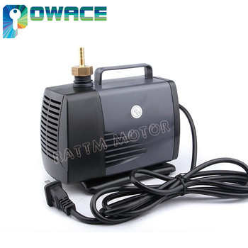 85W Spindle Motor Water Pump 4m 220VAC Submersible Pump Carving CNC Machine Accessories
