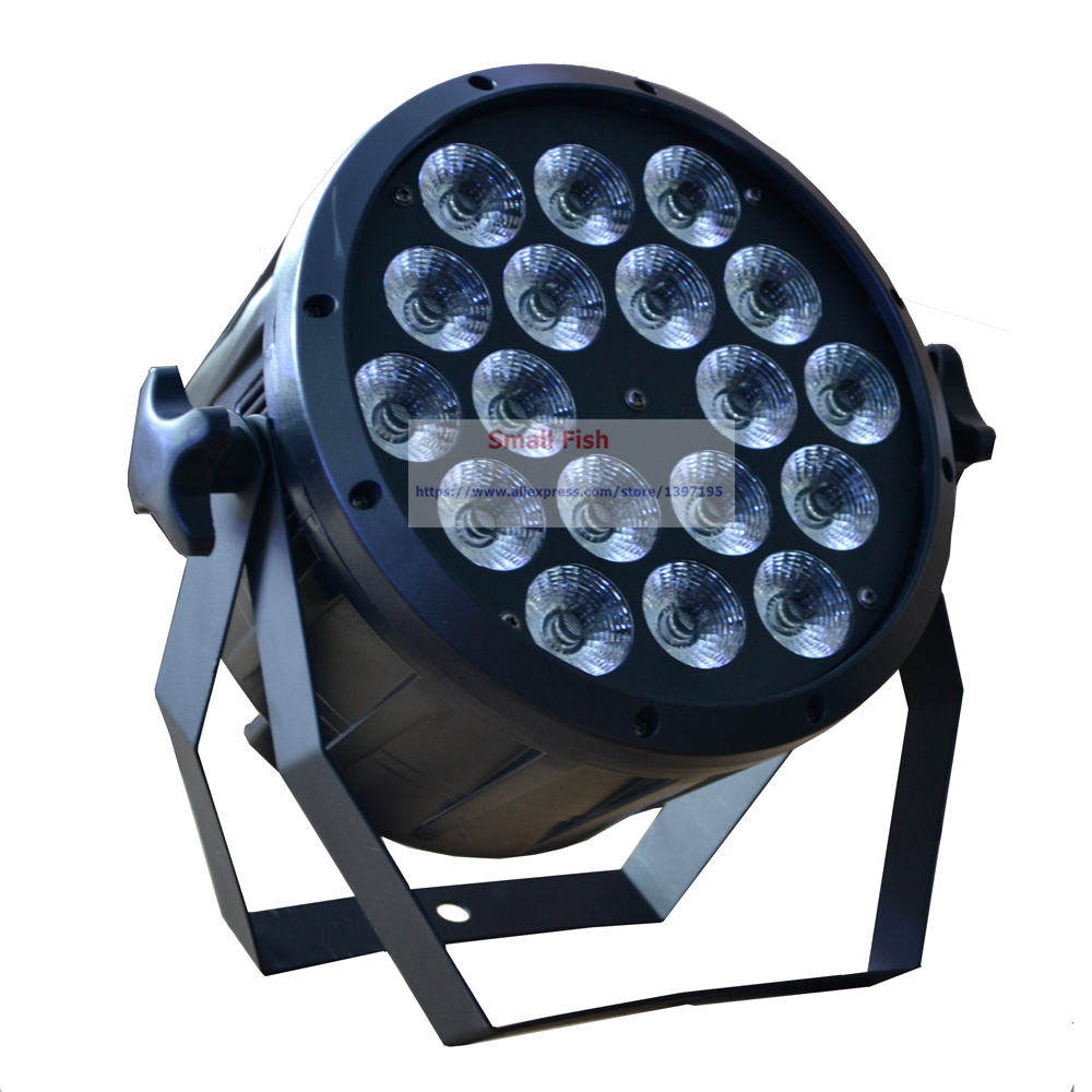 High quality 18*10W Led Stage Light High Power RGBW Par Light With DMX512 Master Slave Led Flat DJ show Home party Ballroom niugul dmx stage light mini 10w led spot moving head light led patterns lamp dj disco lighting 10w led gobo lights chandelier