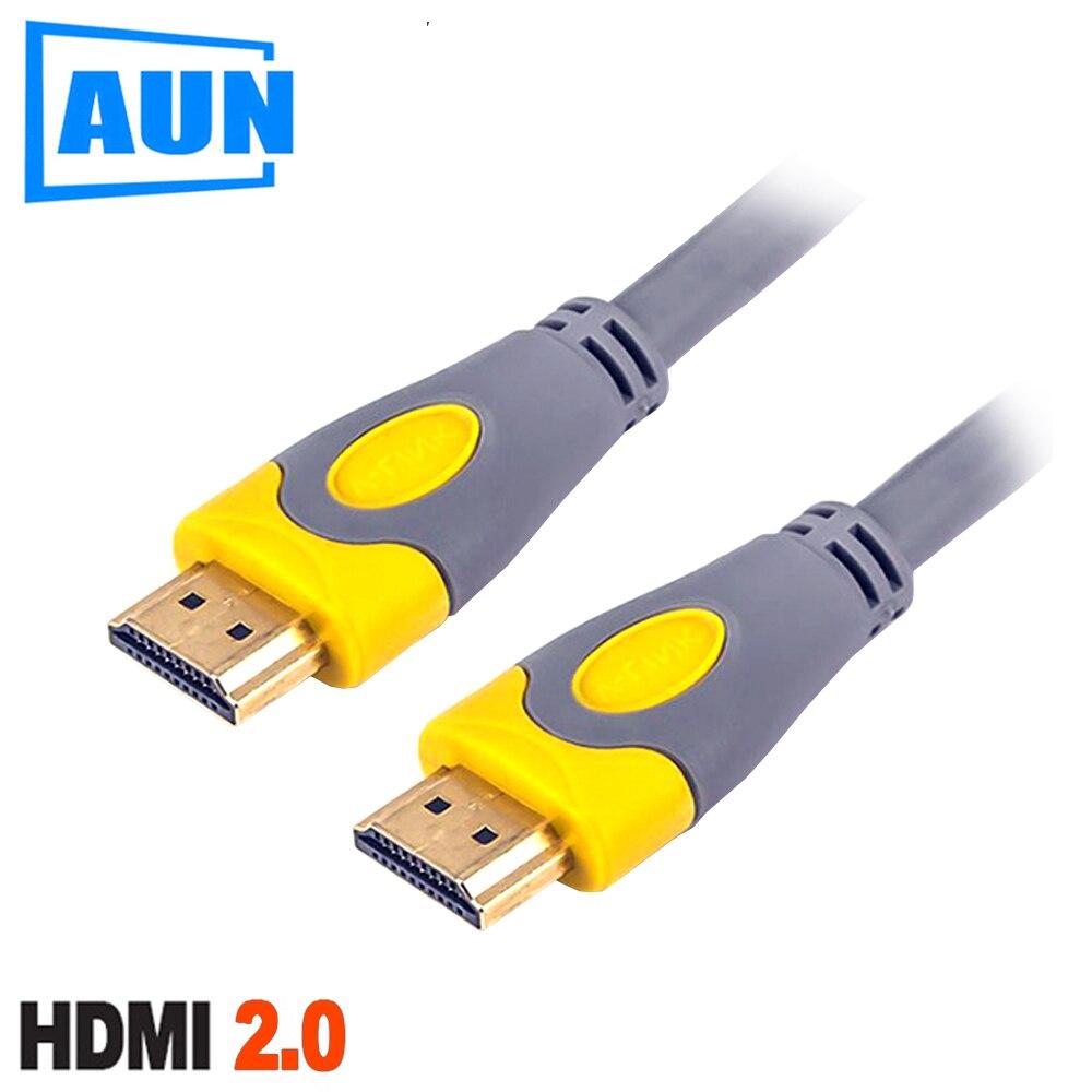 AUN 1.5 m, 3 m HDMI 2.0 Version Sans Oxygène Cuivre HDMI Câble. Soutien 3D, 1080 p, 2 k, 4 k pour AUN Projecteur, TV, HD Moniteur