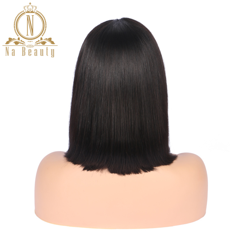 HTB1AcPAPjTpK1RjSZKPq6y3UpXad 613 Short Bob Wigs 1B 613 Ombre Honey Remy Pre Plucked Straight 13x6 Blonde Lace Front Human Hair Wig for Women Natural Black