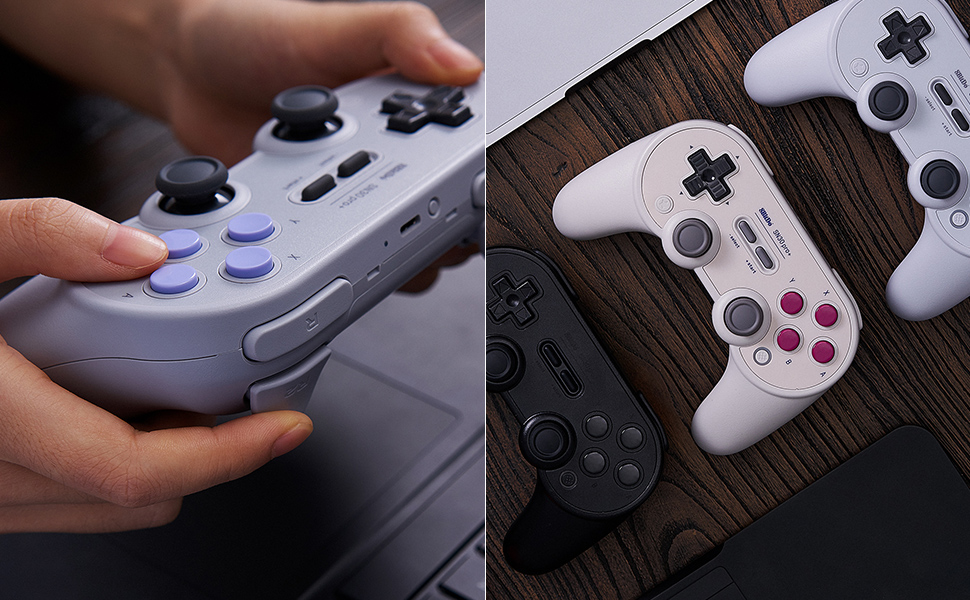 SN30 pro plus Official 8BitDo SN30 PRO+ Bluetooth Gamepad Controller with Joystick for Windows Android macOS Nintendo Switch 24