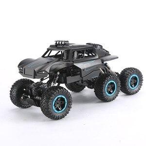 Image 2 - Q51 1:12 rc 자동차 산 오프로드 차량 bigfoot 최대 6wd 오프로드 원격 제어 자동차 등산 자동차