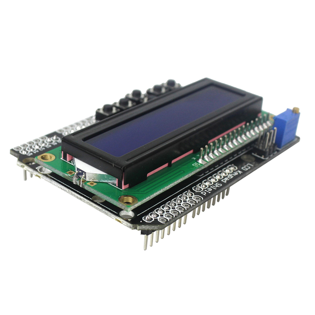 LCD Keypad Shield LCD1602 LCD 1602 Module Display for Arduino UNO and MEGA