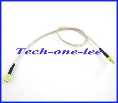 10 шт./лот RP-SMA кабель удлинитель RP SMA штекер Женский контактный MMCX Мужской коннектор адаптер RF коаксиальный кабель для пигтейлов шнур