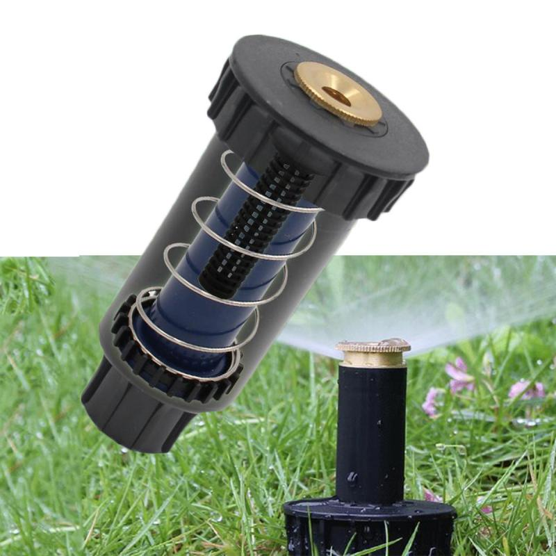 2018 90/180/360 Degrees Adjustable Pop Up Spray Sprinklers Automatic Retractable Watering Lawn Garden Irrigation Nozzle