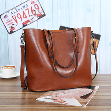 2019 New Large Capacity Women's Tote Bag High Quality Leather Female Shoulder Bag Casual Women Handbag Lady's Messenger Bags
