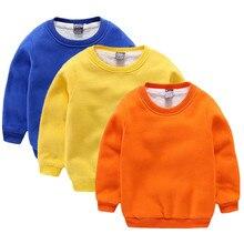 Hot New Baby Girls Boys Sweater Children Inside Wool Sweater Children Clothing Outwear Kids Autumn Winter Warm Clothes Coat