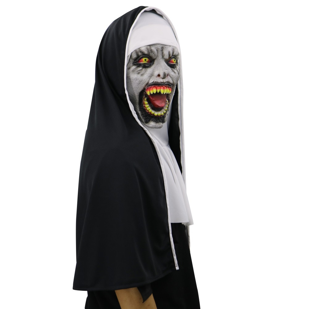Cosplay Scary Horrible Mask Melting Face Latex Costume Halloween Masquerade Mask