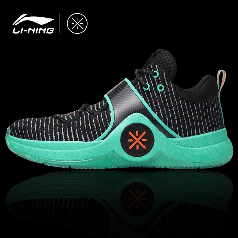 Li-Ning Для мужчин WOW 6 'duanwu' Профессиональный баскетбол Культовая обувь подкладка комфорт спортивная обувь переносные кроссовки ABAM089 XYL168