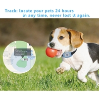 Smart FP03 Pet Dog GPS Tracker Finder Wireless Bluetooth GPS Locator Waterproof Kid Anti lost Alarm LBS Tracking Track Collar