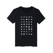 The Traveler Clothes Print T-Shirt Black Brand Women Fashion Hip Hop Style Cotton Tee Shirt Men Funny Luxury In Plus Size 4XL