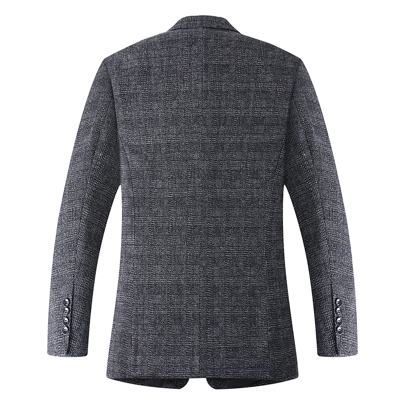 8XL 7XL 2018 جديد وصول العلامة التجارية الملابس الصوف سترة Autumu سترة الرجال السترة أزياء فضفاضة الذكور الدعاوى عارضة الحلل الرجال-في السترات من ملابس الرجال على  مجموعة 2