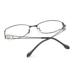 Image 3 - Gafas con montura completa de aleación para mujer, gafas de marca graduadas, a la moda, para mujer