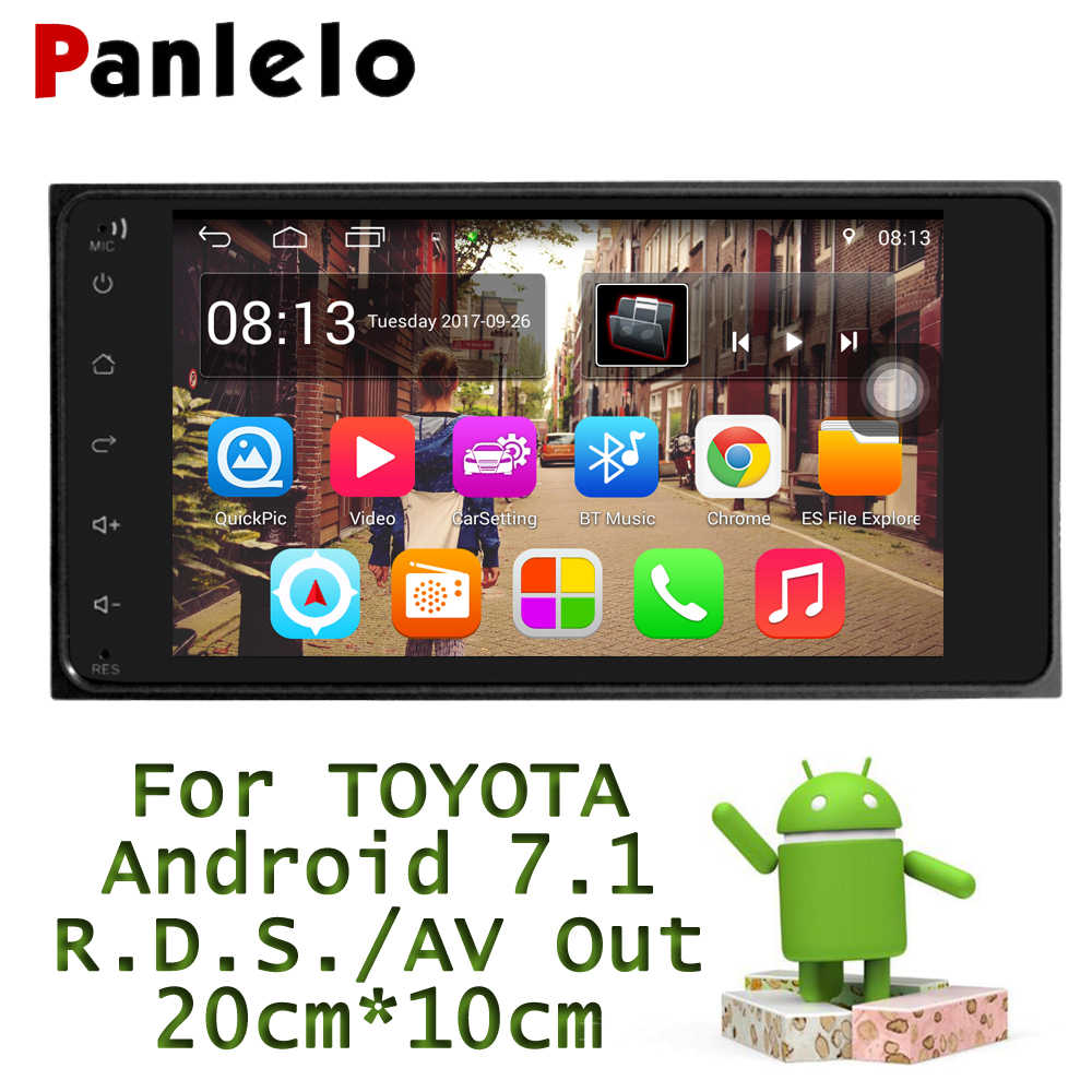 Panlelo For Toyota 2 Din Android Car Radio 7 inch 1G 16G