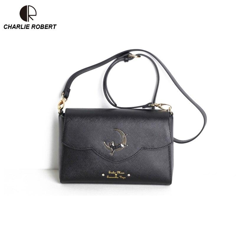 Reasonable Hot Fashion Style Bags Famous Cute Design Women Backpack Moon Luna Vega Sailor Moon Bag Cat Backpack Yx314 Women's Bags