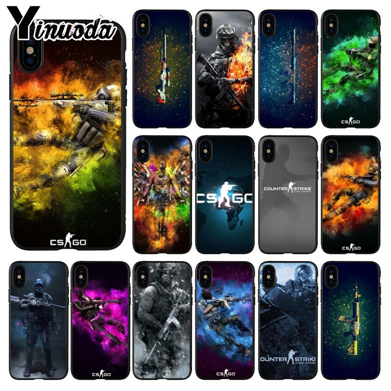 Phone Bags & Cases Yinuoda Cs Go Gun Game Tpu Soft Silicone Phone Case Cover For Iphone 6s 6plus 7 7plus 8 8plus X Xs Max 5 5s Xr Pleasant In After-Taste Cellphones & Telecommunications