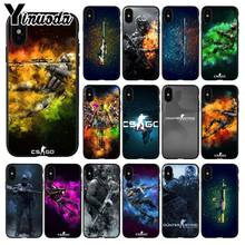 Yinuoda cs go gun game TPU Soft Silicone Phone Case Cover for iPhone 6S 6plus 7 7plus 8 8Plus X Xs MAX 5 5S XR(China)
