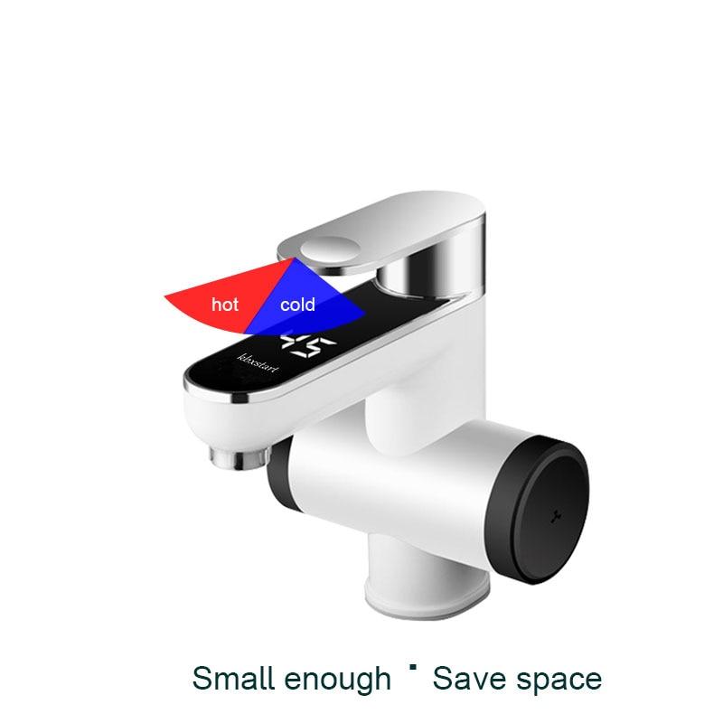 Ванная комната Электрический водонагреватель мгновенного проточный водонагреватель коснитесь 220 В Banheiro Электрический кран с Температура ...