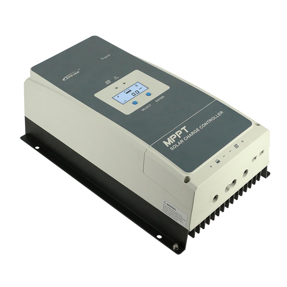 Image 2 - EPever MPPT 100A 12V 24V 36V 48V Solar Charge Controller Backlight LCD Max 150V PV Input Common Negative Grounding Tracer10415ANSolar Controllers   -
