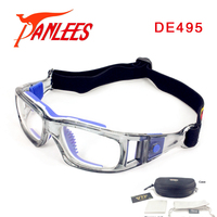Panlees High Quality Sports Glasses Soccer Prescription Glasses Basketball Sports Goggles Basketball Goggles Free Shipping