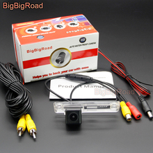 BigBigRoad Car Rear View Camera For Toyota Land Cruiser Prado LC150 Fortuner Sequoia 4Runner SW4 / Hilux Surf Innova 2002- 2012