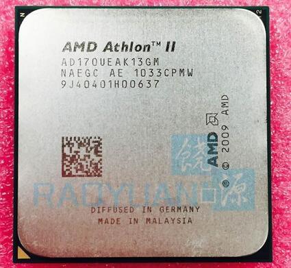 AMD Athlon II X2 170U 2 GHz Dual-Core CPU Processor AD170UEAK13GM Socket AM3