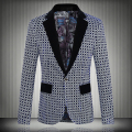 2016 New Brand Blazer Men Casual Suit Mens Blazers Slim Fit One Button Men Suit Jacket 5XL Fashion Clothing