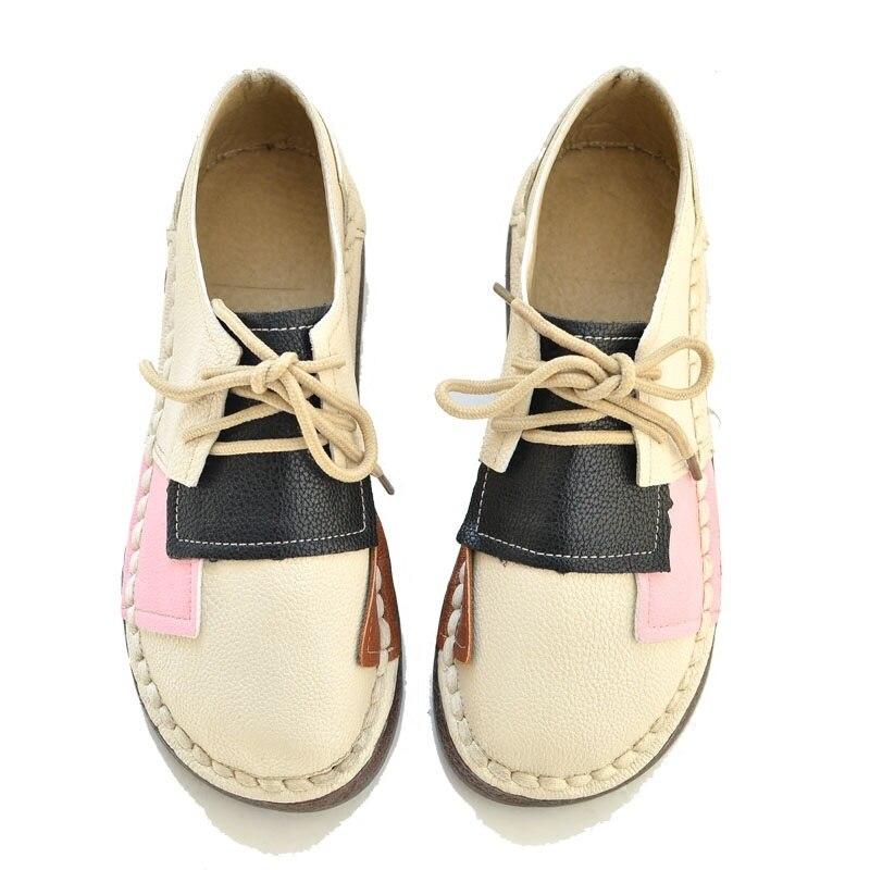 2018 Wild College Wind Retro literary single shoes Flat Mori Girls Leisure Mum Shoes Matching Wild Doll shoes wild wind увлажнитель воздуха купить харьков