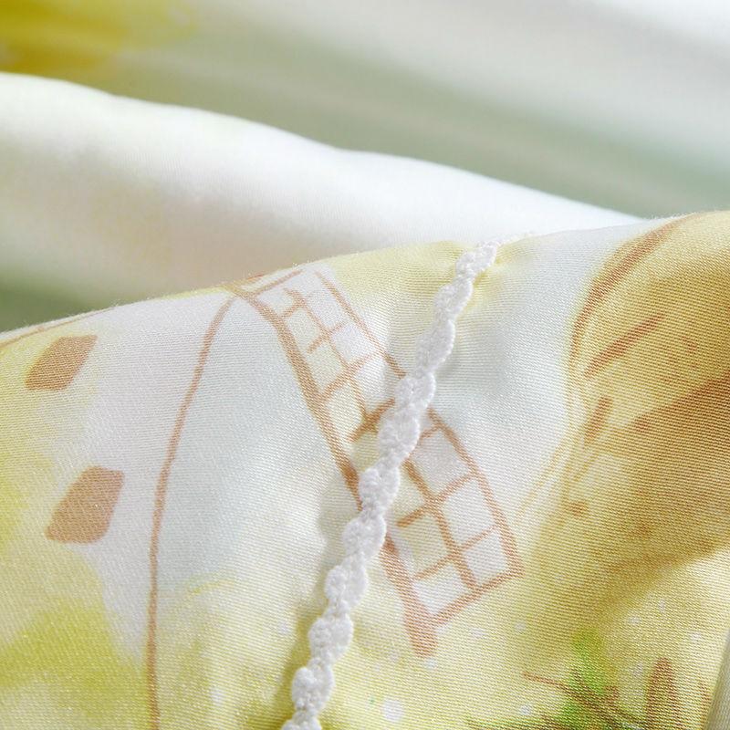 Yeni moda cizgi filmi 40s 100% Tencel yorğan Ev mexaniki yuma yay - Ev tekstil - Fotoqrafiya 6