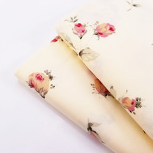 50x40CM Home Textile Cotton Twill Fabric Floral Printed Patchwork Material Manual Sewing DIY Handmade Quilting Cotton Material white pp fluffy springback cotton non woven doll purse filling material diy manual material accessories