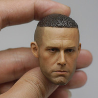 Custom 1/6 Scale Ben Head Sculpt Pot lid Head Model Action Figure Collections Gift
