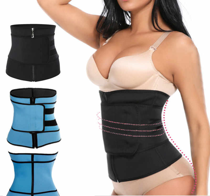 Body Shaper Neoprene Trimmer Anti Cellulite Waist Trainer Corset for Weight Loss Girdle Wrap Slimming Fat Burner Face Lift Tool