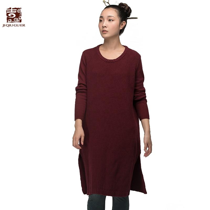 Jiqiuguer المرأة الصلبة الأحمر القطن سترة - ملابس نسائية