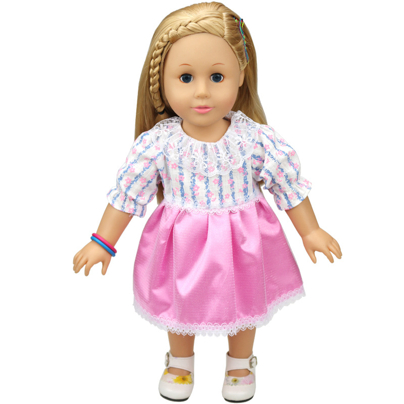 Variety-of-multi-color-leisure-suits-Clothes-for-45cm-American-girl-and-Zapf-baby-born-doll-accessories-1