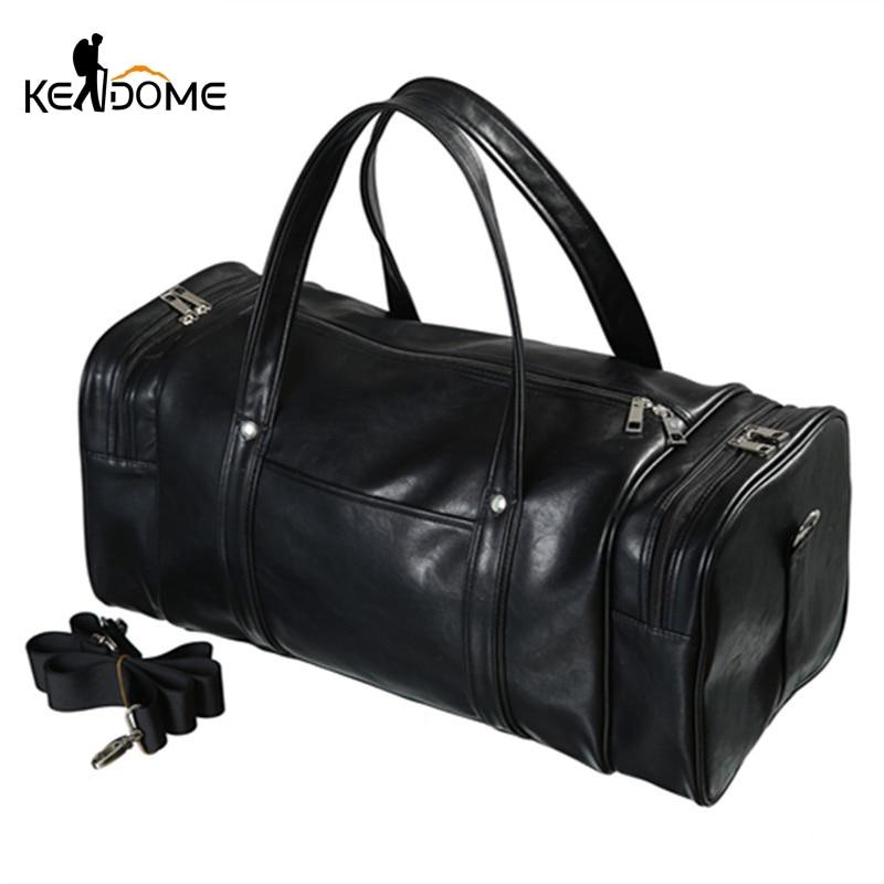 2019 Hot Top Duffel Gym Bags Leather Women Men Multifunction Training Travel  Yoga Luggage Fitness Handbag Shoulder Bag XA923WD