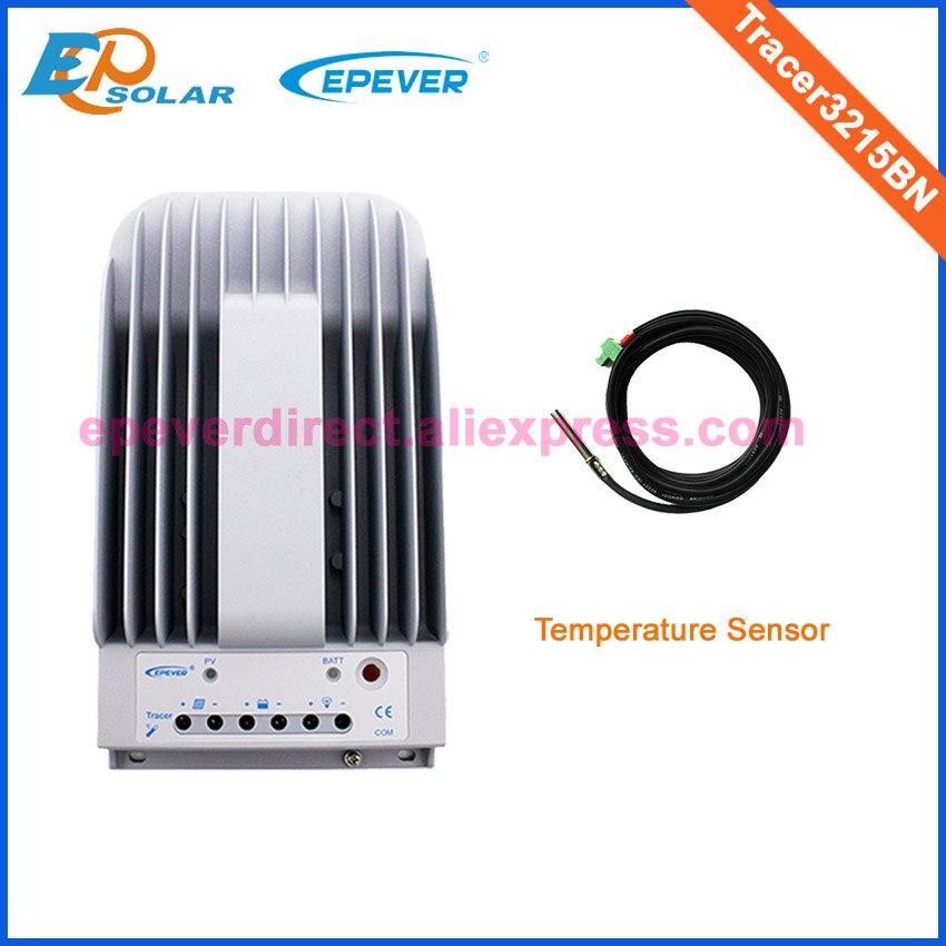 Régulateur + capteur de température EPEVER EPsolar MPPT régulateur solaire 30A Tracer3215BN 12 V 390 W 24 V 780 W système de panneaux appliquer
