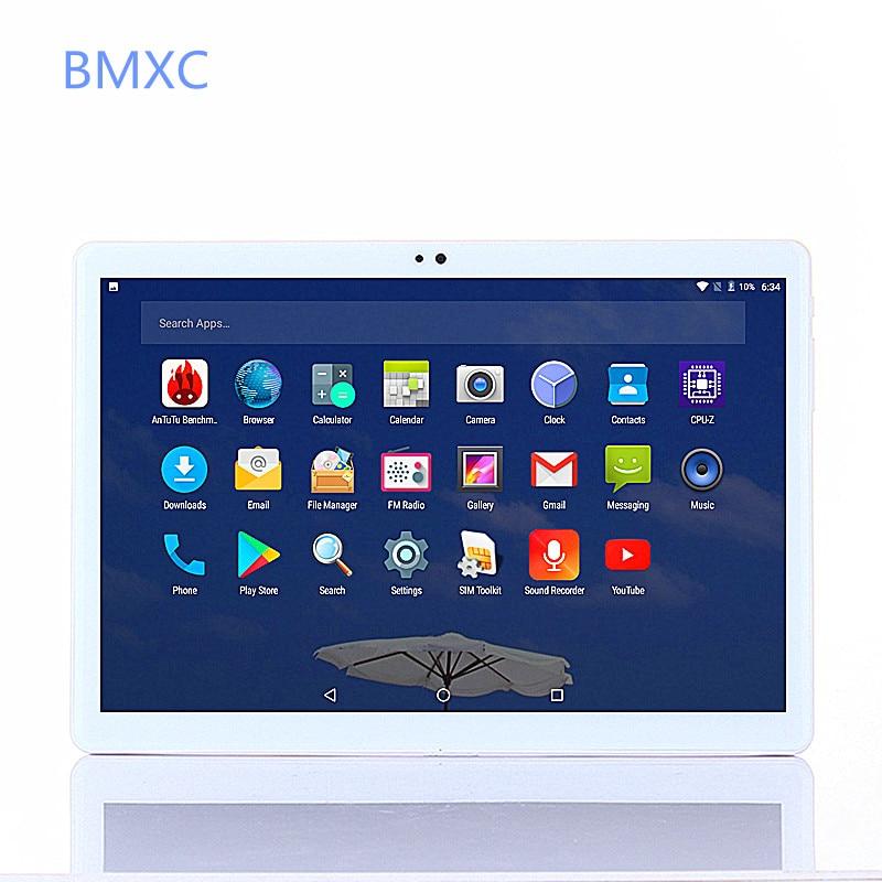 Il trasporto Libero 10.1 pollice 3G 4G LTE Tablet pc Octa core tablets Android 7.0 1920*1200 IPS HD Dual Camera 8.0MP 4 GB di RAM 64 GB wifi