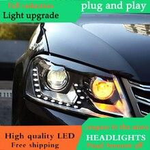 Car Styling For Europe Vw Pat Headlights 2017 Eur Led Headlight Drl Lens