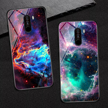 Goterfly glass phone case 6.18 inch Pocophone F1 painted protective back cover cases Xiaomi PocoPhone F1 caso pocophon Poco f1 goterfly glass phone case 6 18 inch pocophone f1 painted protective back cover cases xiaomi pocophone f1 caso pocophon poco f1